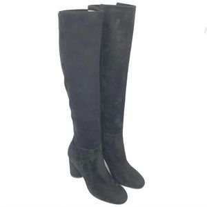Stuart Weitzman Eloise 95mm Knee High Black Boots